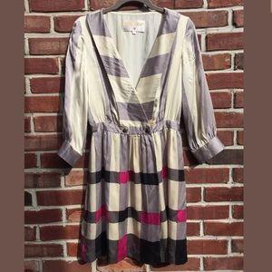 Anthropologie Lauren Moffat Dress SZ 4 Studded